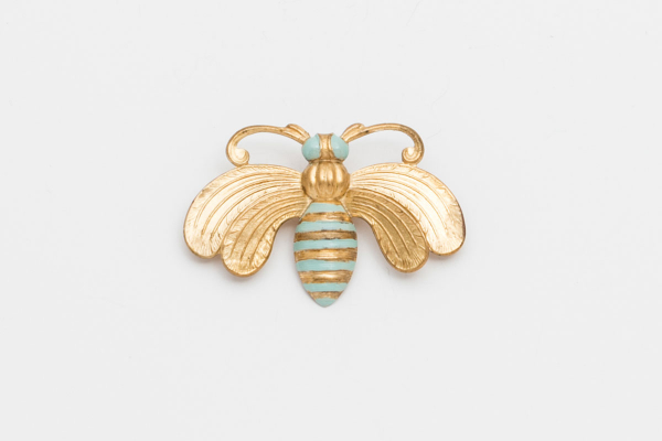broche-abeja-reina-turquesa