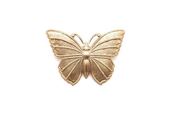 broche mariposa vintage