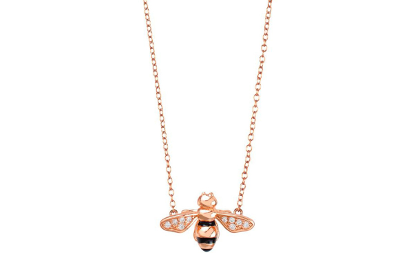 gargantilla abejas raya