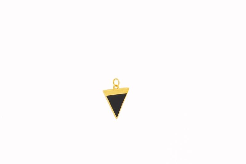 Colgante Triángulo Negro