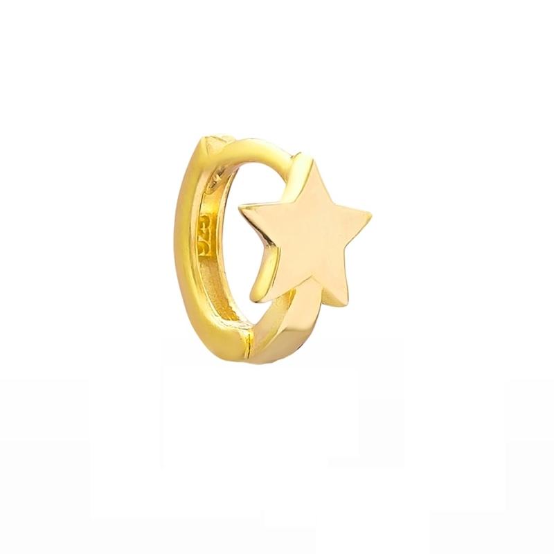 Argollita Estrella Gold