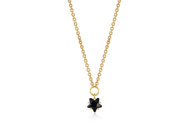 Gargantilla Mini Estrella Negra