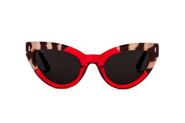 Gafas de Sol Baoli Rojas, con lentes antireflejantes verdes, muy ligeras