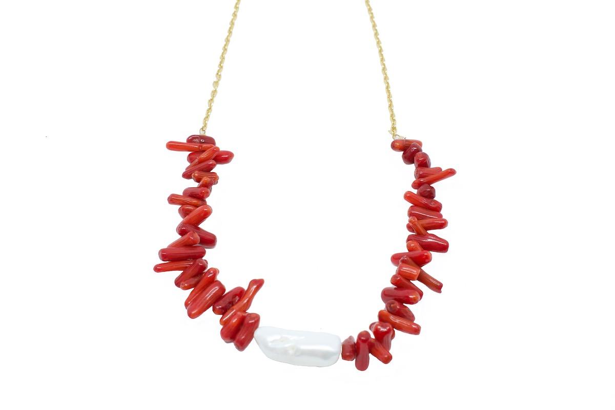 Gargantilla Choker Corales