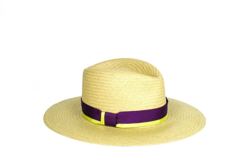 Sombrero Arena en fibra vegetal
